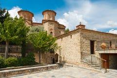 Church of monk Varlaam in Meteora, Greece Royalty Free Stock Image
