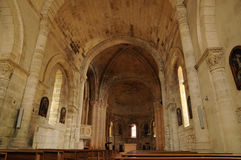 Church of Montagne in Gironde Royalty Free Stock Photo