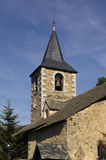 Church of Montcorbau, Aran Valley, Lleida province, pyrenees mou. Detail of the Church of Montcorbau, Aran Valley, Lleida province, pyrenees mountain, Spain Stock Photography