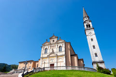 Church of Monte di Malo - Vicenza Italy Royalty Free Stock Images