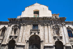 Church of the Monte of Mercy. Barletta. Puglia. Italy. Royalty Free Stock Image