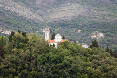 Church on Montenegro Hilltop Stock Images