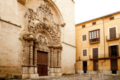 Church of Montesion Monti Sion in Majorca at Palma Royalty Free Stock Photography