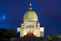 Church of Montreal Royalty Free Stock Photography
