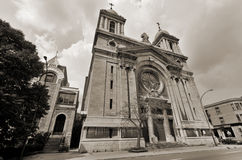 Church in Montreal Royalty Free Stock Images