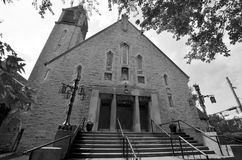 Church in Montreal Royalty Free Stock Photo