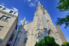 Church in Montreal Stock Photography