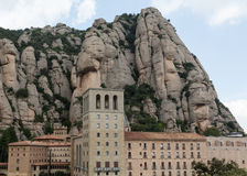 The Church at Montserrat Stock Photography