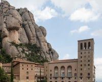 The Church at Montserrat Royalty Free Stock Photo