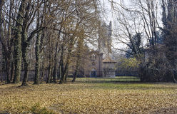 Church in the Monza Park Royalty Free Stock Photos