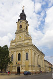 Church with the Moon - Oradea. The orthodox church The Assumption of Mary, also known as The Moon Church in Oradea, Romania Royalty Free Stock Image