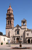 Church of Morelia Stock Photography