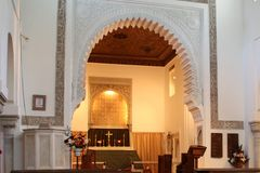 CHURCH, MOROCCO Royalty Free Stock Photo