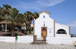 Church in Morro Jable, Spain Royalty Free Stock Photography