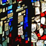 Church mosaics Royalty Free Stock Photography