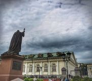 A church in Moscow. stock photos