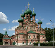 Church, Moscow, Russia. Ancient church, it is photographed in Russia Royalty Free Stock Images
