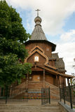 Church, Moscow, Russia. Wooden church, it is photographed in Russia Royalty Free Stock Photography
