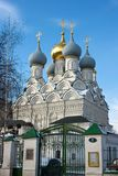 Church, Moscow, Russia. The church in the centre of Moscow, is photographed in the spring Royalty Free Stock Images