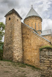 Church of the Mother of God in Ananuri fortress in Georgia Royalty Free Stock Image