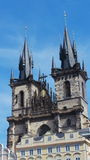 The Church of Mother of God in front of Týn Royalty Free Stock Images