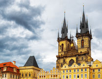 The Church of The Mother of God in front of Tyn in Prague, Czech Stock Image