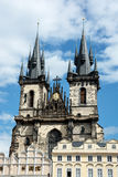 The Church of Mother of God in front of Tyn in Prague Stock Photography