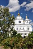 Church of Mother of God of Kazan icon. Church of Our Lady of Kazan in Yaroslavl stock images
