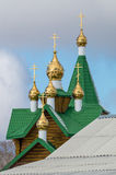 The CHURCH of the MOTHER of GOD Tenderness, Asbest, Russia Royalty Free Stock Images