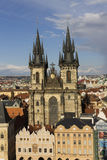 The Church of Mother of God before Tyn in Prague Stock Photography
