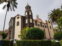 Iglesia de la Concepción - La Orotava stock photography