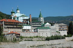 Church on Mount athos Stock Images
