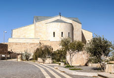 Church on Mount Nebo Royalty Free Stock Photos