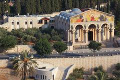 The Church on the Mount of Olives Royalty Free Stock Photo