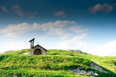Church on mountain Royalty Free Stock Images