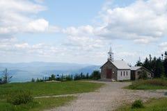 Church mountain top Stock Photography