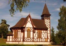 Church in mountain Stock Photos