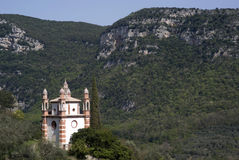Church in mountains Royalty Free Stock Image