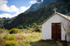 Church in the mountains Royalty Free Stock Photos