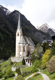 Church in the mountains Royalty Free Stock Photography