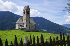 Church in the mountains Royalty Free Stock Images