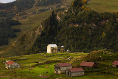Church in the mountains Royalty Free Stock Image