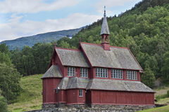 Church in the Mountains Royalty Free Stock Photo