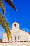 Church of Multiplication Facade in Tabgha Royalty Free Stock Images