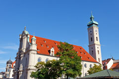 Church in Munich Royalty Free Stock Photos