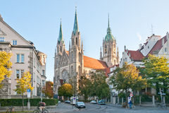 Church in Munich Stock Photography