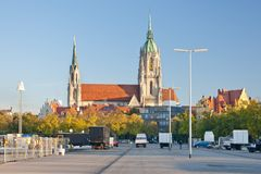 Church in Munich Royalty Free Stock Images