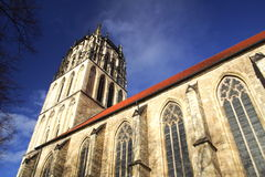 Church in Munster Stock Photography
