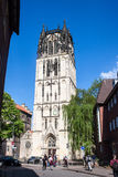 Church in Munster, Germany Stock Images