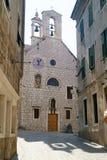 Church and museum of Saint Barbara in Sibenik Royalty Free Stock Images